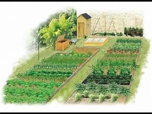 Jardin Dessin Couleur : les principes de la rotation des l gumes au potager youtube ~ Melissatoandfro.com Idées de Décoration