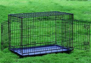 extra large extra tall 48quot two door dog crate cat cage With extra wide dog crate