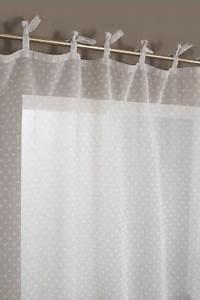 Rideau A Nouette : rideau voilage nouettes motif pistils voilage pinterest voilages rideaux voilages et motifs ~ Teatrodelosmanantiales.com Idées de Décoration
