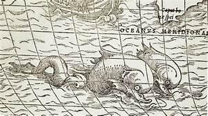Морские монстры - Артефакты, диковинки, интересности...