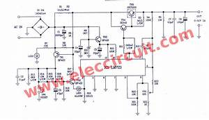 Component  0 50v Variable Power Supply Circuit At 3a 100