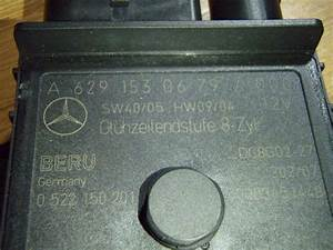 S420 Cdi Glow Plug Relay Question