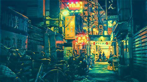 wallpaper photography blue filter tokyo art color