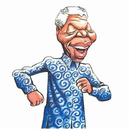 Clip Nelson African Clipart Mandela Africa South