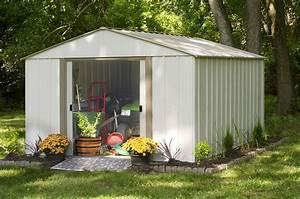 Abri De Jardin Arrow : abri de jardin metal arrow ob1014 12 m2 ~ Dailycaller-alerts.com Idées de Décoration