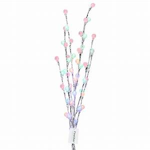 48leds fairy lights battery operated branch twig string With outdoor battery operated twig lights