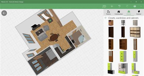 5d Home Interior Design : Plan And Furnish Spaces With The Free Planner 5d Design App