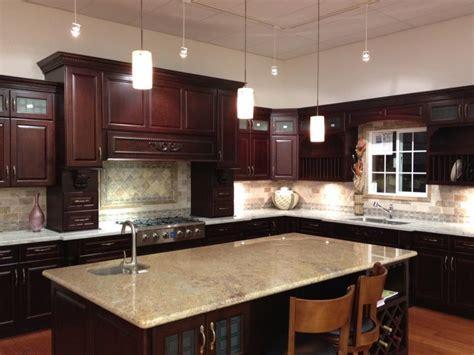 cherry java cabinets hy kitchen cabinet inc hy kitchen cabinet