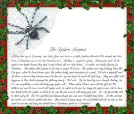 christmas traditions from my family to yours the christmas spider legends trees and