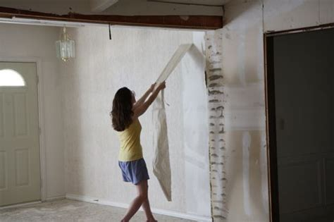 Yes, You Can! How To Remove Wallpaper From Unprimed Drywall