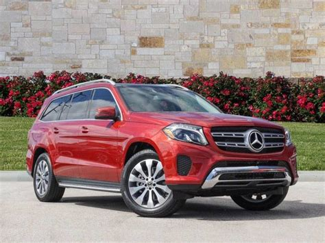 Its interior upgrades include ambient lighting, leather dashboard, special wood trim, and premium porcelain/expresso brown leather upholstery with stitched surfaces. New 2019 Mercedes-Benz GLS GLS 450 SUV in Georgetown # ...