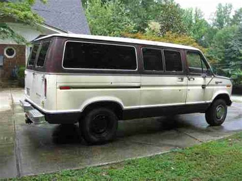 buy   ford club wagon xlt van  midland georgia