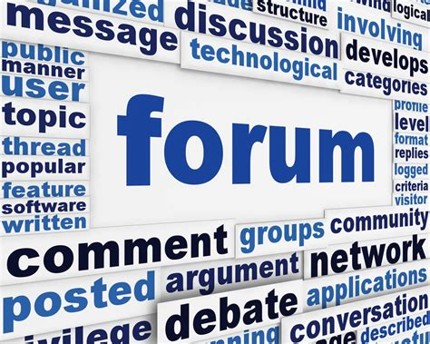 The Importance of Online Forums - The Social Media Monthly