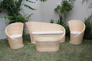 Salon Jardin Rotin : salon en rotin decoration ethnique ~ Melissatoandfro.com Idées de Décoration