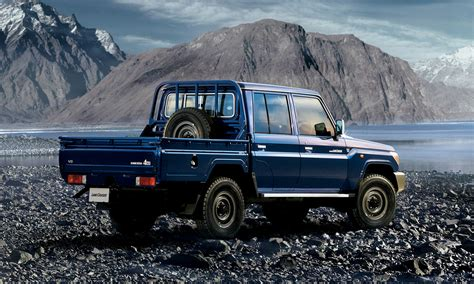 land cruiser check out the reissued toyota land cruiser 70 pickup truck