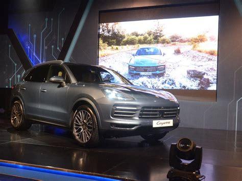 Gambar Mobil Porsche Cayenne by Porsche Cayenne 2018 Mendarat Di Jakarta Mobil Baru