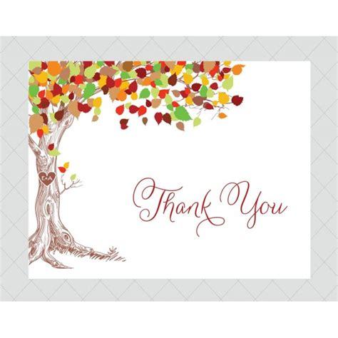 Thank You Card Weneedfun