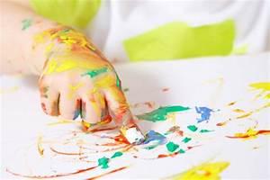 Maison Pour Enfant : peinture tactile ~ Teatrodelosmanantiales.com Idées de Décoration