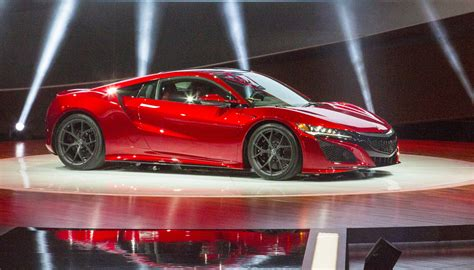 2016 acura nsx review ratings specs prices and photos