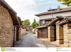 Ein Stein Haus Forum : eine steinwand und ein altes haus von arbanasi bulgarien ~ Lizthompson.info Haus und Dekorationen