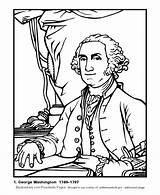 Washington George Coloring President Pages Presidents Sheets Print Activity Presidential Popular Bluebonkers Kaynak Coloringtop sketch template