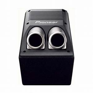 TS-WX206A 150W bandpass active subwoofer in custom enclsure