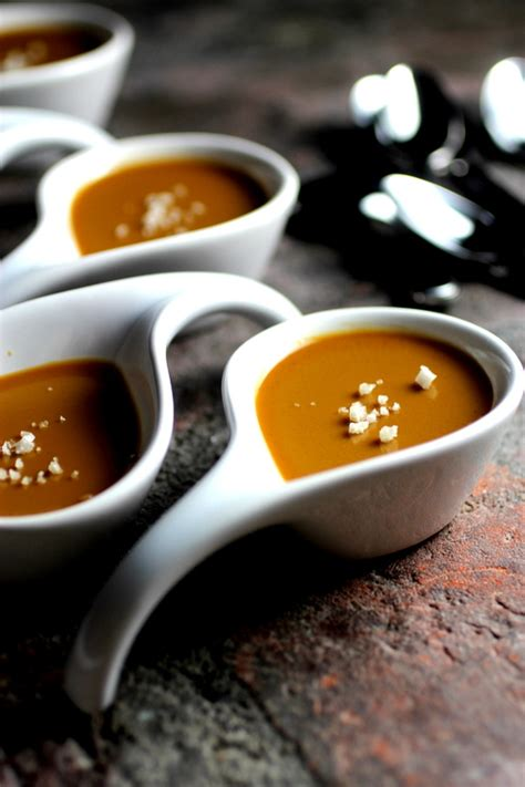 salted caramel brown sugar pots de creme taste with the