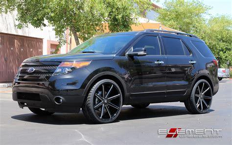 ford explorer wheels custom rim  tire packages