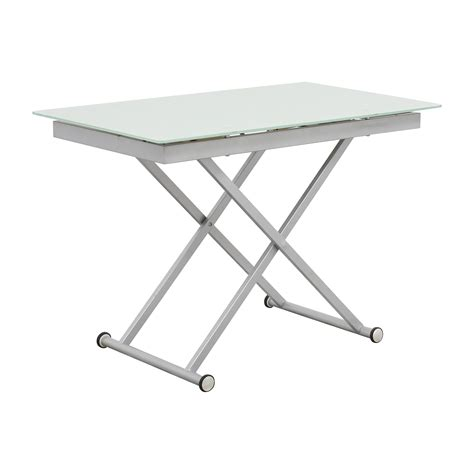 74% Off  Modern Adjustable Height Coffee Table  Tables. Nice Desk Lamps. Table Skirt Clip. Vintage Pub Table. Laundry Drawers Between Washer And Dryer. Bar Table Chairs. Makeup Tables For Sale. Stacked Book End Table. Z-line Computer Desk