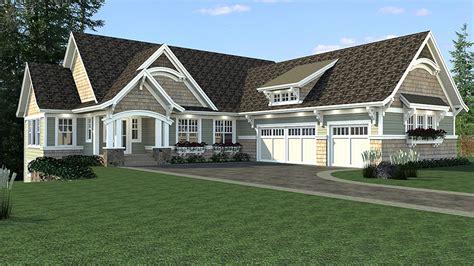 craftsman house plan  sports court rk architectural designs house plans