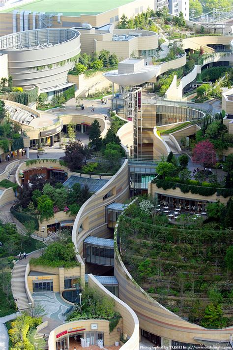 Landscape Architecture & Urban Design In Namba Parks