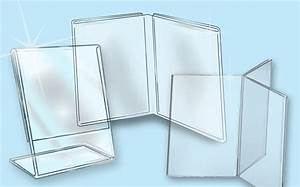 Clear plastics sign holders literature holders ad frames for Plexiglass document holder