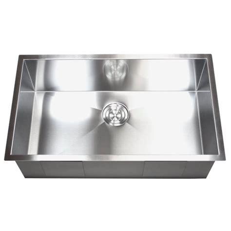 shop   stainless steel single bowl undermount
