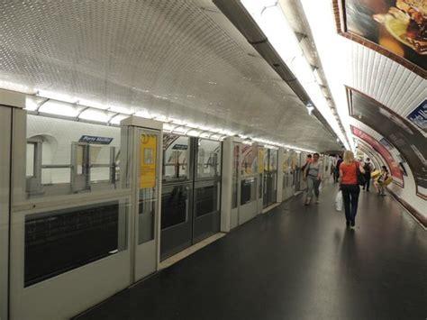inside porte maillot metro station picture of ac hotel porte maillot tripadvisor