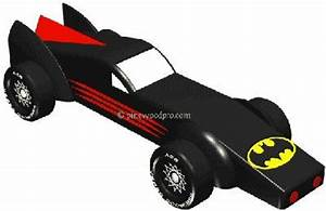batmobile pinewood derby 3d design plan instant With batmobile pinewood derby template