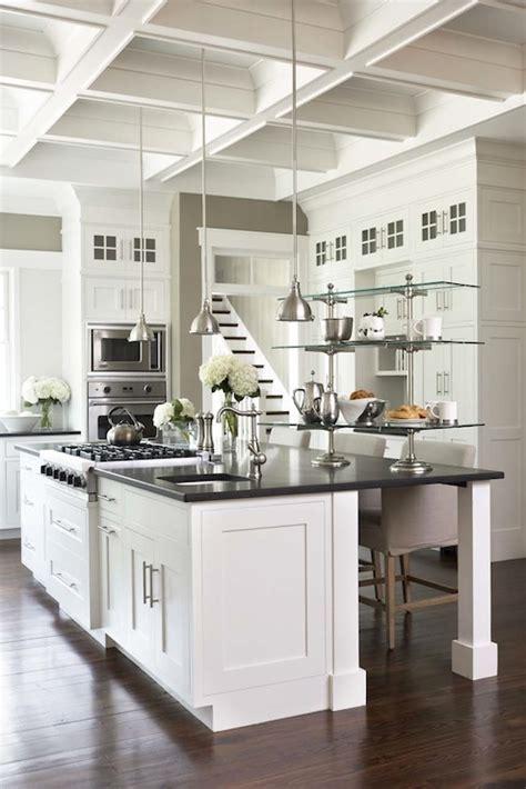 Kitchen Coffered Ceiling Design Ideas