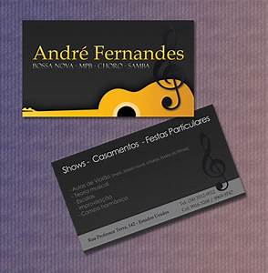 20 fantastic business cards for musicians naldz graphics for Music band business cards