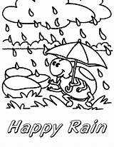 Coloring Rain Pages Monsoon Umbrella Bestcoloringpagesforkids Colouring Weather Spring Happy Summer Clouds Things sketch template