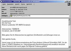 Avast Rechnung : tu berlin hoax info service weblog archiv april 2007 ~ Themetempest.com Abrechnung