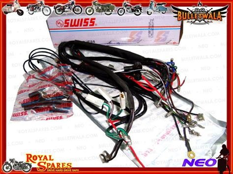 Complete Main Wiring Harness Early Royal Enfield