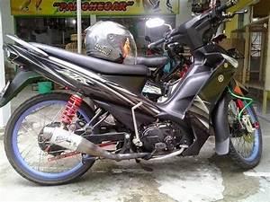 Kumpulan Photo Modifikasi Full Motor Yamaha Vega Zr
