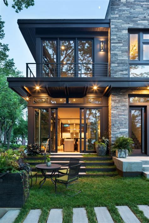 Home Design Ideas Outside by Modern Organic Home By Kraemer Sons In Minneapolis Usa