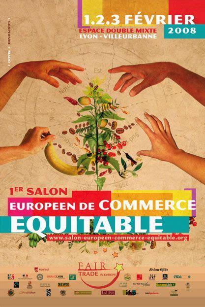 affiche cuisine commerce équitable affiche food commerce équitable