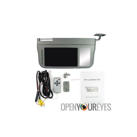 7 inch l shade tv auto sun shade with 7 inch lcd monitor integrated
