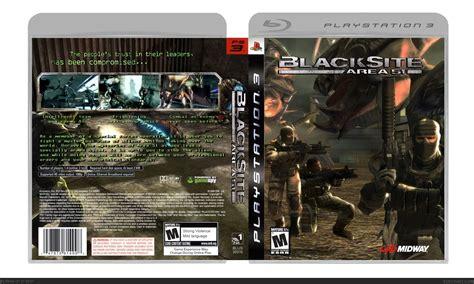 blacksite area  playstation  box art cover  vekta