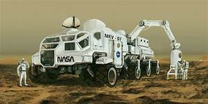 Mars exploring vehicle by novaillusion on DeviantArt