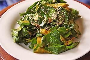 Spinat Als Salat : spinat avocado gurken salat mit wasabi dressing von danielov ~ Orissabook.com Haus und Dekorationen