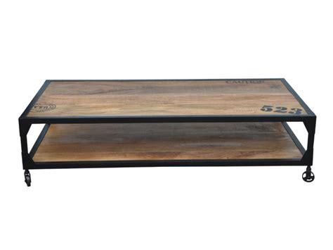 chambre au mois table basse sur roulettes lilian manguier métal