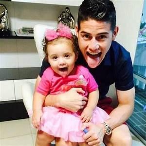 """Motivaciones Fútbol on Twitter: """"James Rodríguez y su hija ..."""