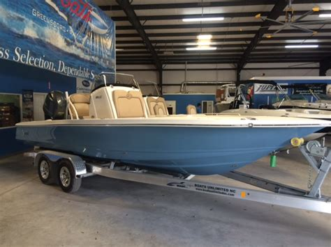 Boats Unlimited Wilmington Nc by 2016 Scout 231xs 23 Foot Blue 2016 Scout Fresh Water